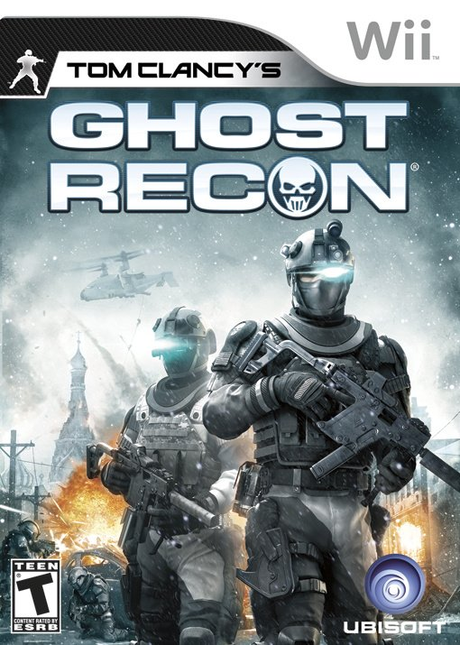 Tom Clancy's Ghost Recon Cover Artwork