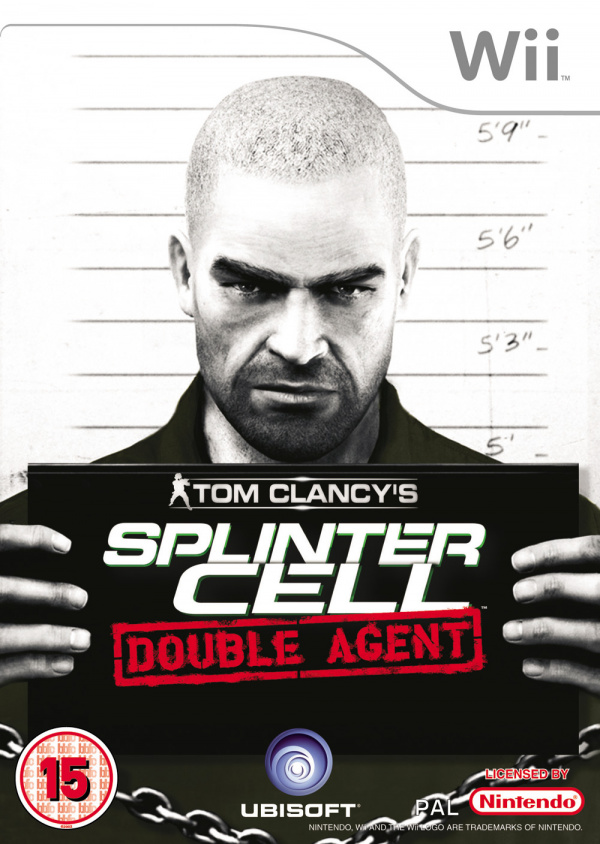 Tom Clancy's Splinter Cell: Double Agent Cover Artwork