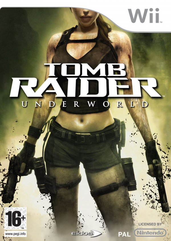 Tomb Raider: Underworld Cover Artwork