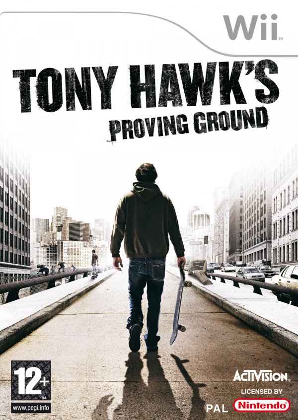 Tony Hawk's Proving Ground Cover Artwork