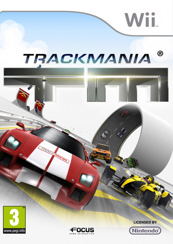 TrackMania Cover Artwork