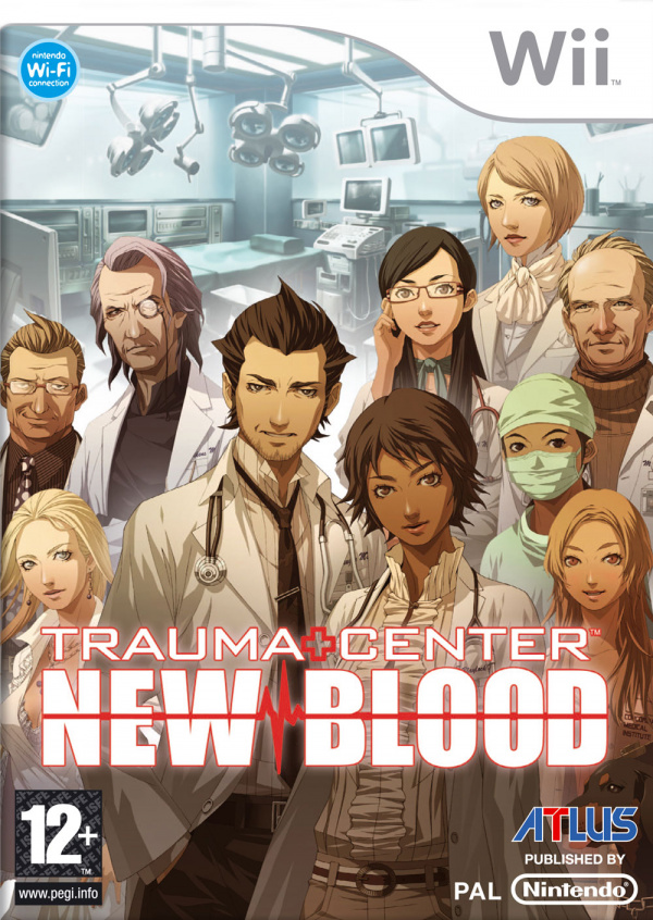 Trauma Center: New Blood Cover Artwork