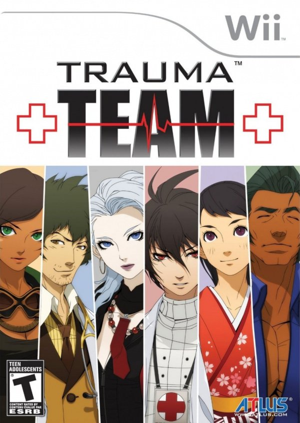 Trauma Team Cover Artwork