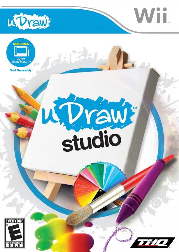 uDraw Studio Cover Artwork
