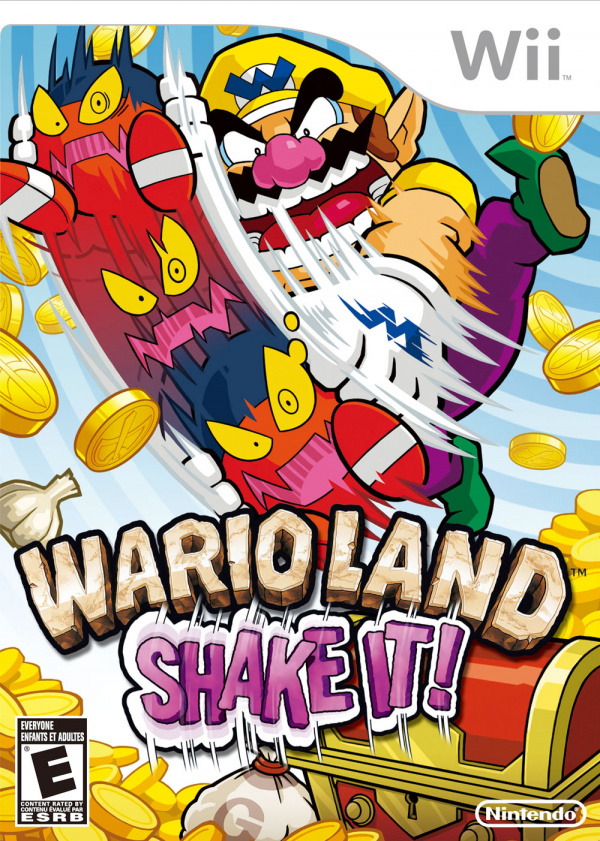 Wario Land: Shake It! Cover Artwork