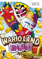 Wario Land: Shake It! Cover (Click to enlarge)