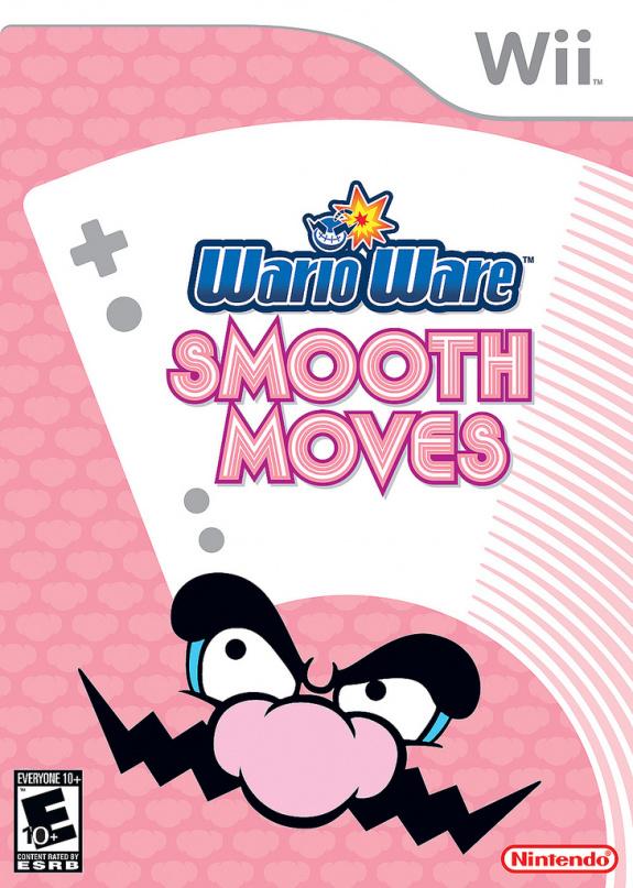 Warioware Smooth Moves Cover Artwork
