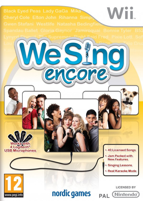 We Sing Encore Cover Artwork
