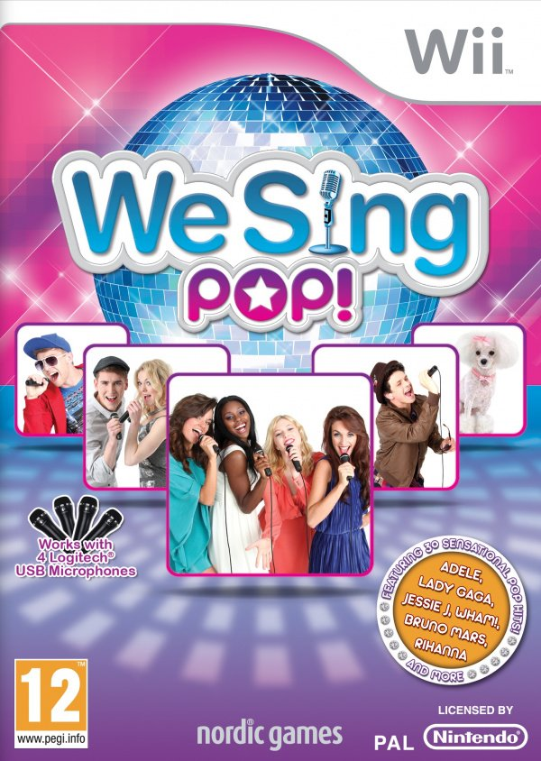 We Sing Pop Cover Artwork