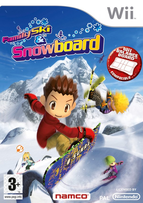 We Ski & Snowboard Cover Artwork