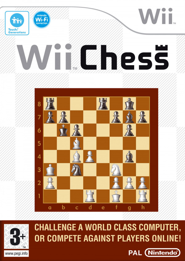 Wii Chess Cover Artwork