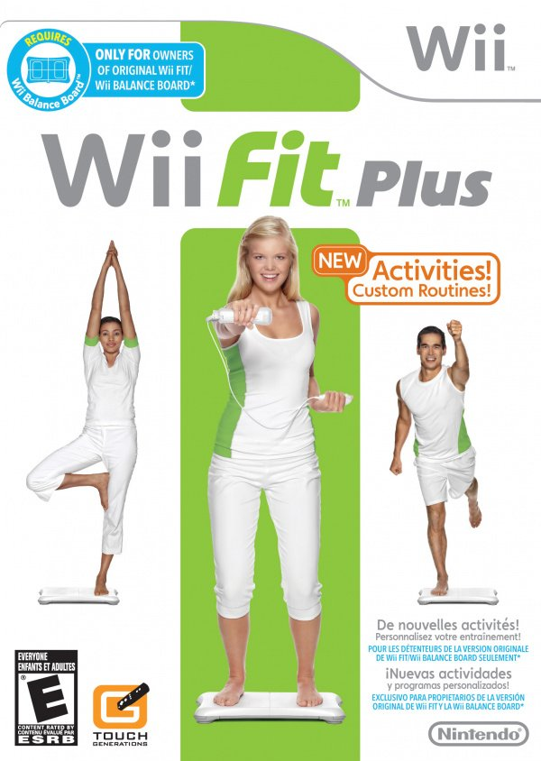 Wii Fit Plus Cover Artwork
