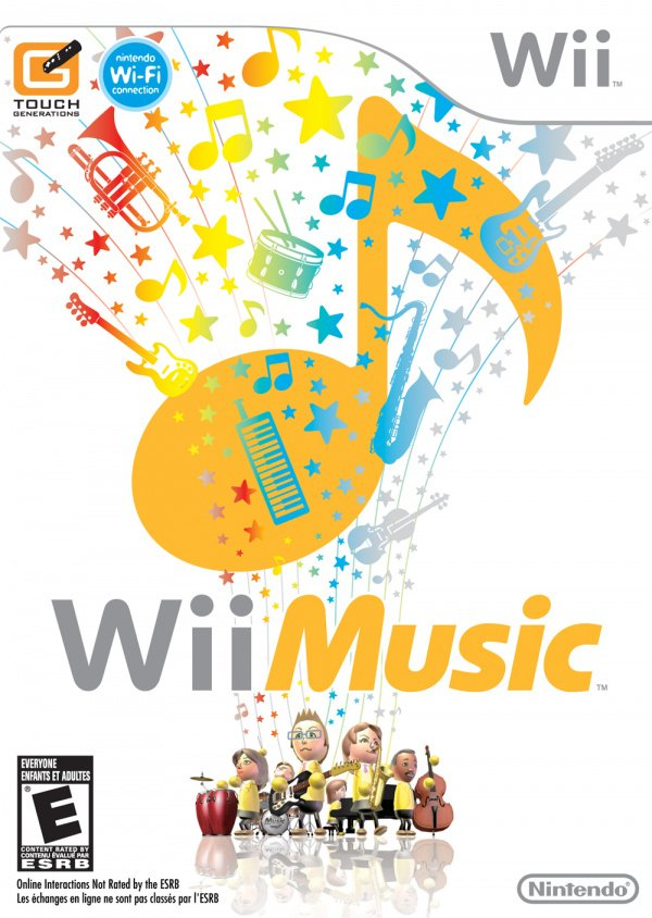 Wii Music Cover Artwork