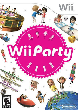 Wii Party Cover Artwork