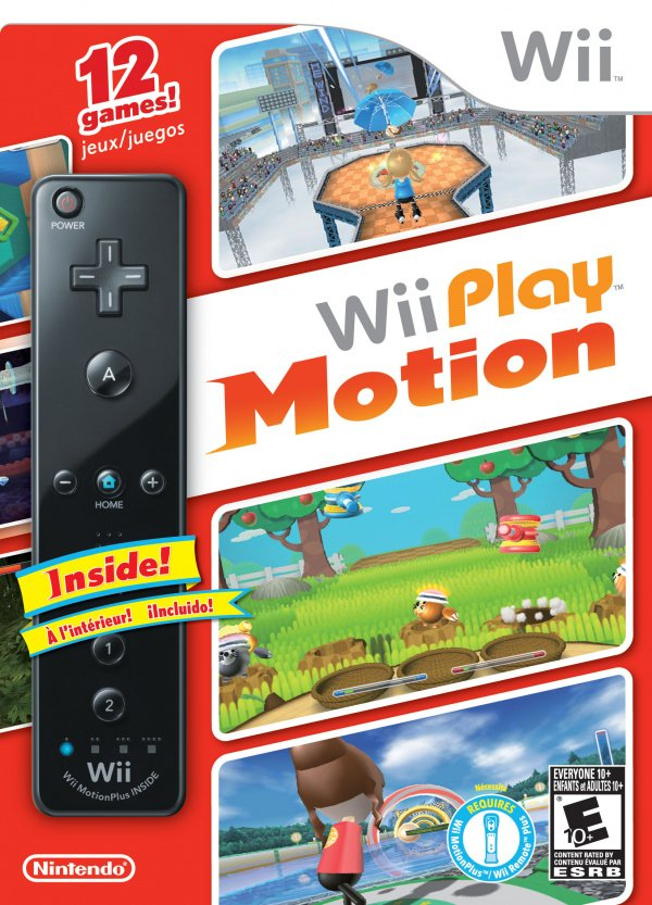 Wii Play: Motion Cover Artwork
