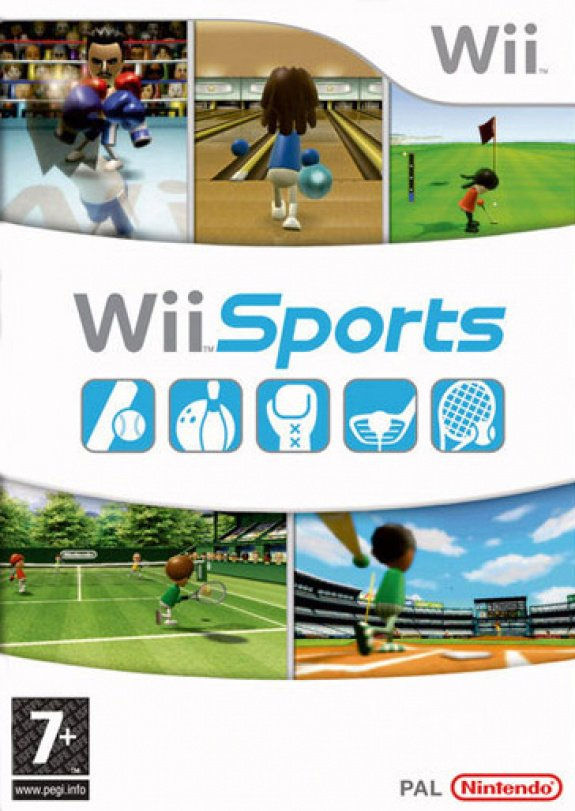 Wii Sports Cover Artwork