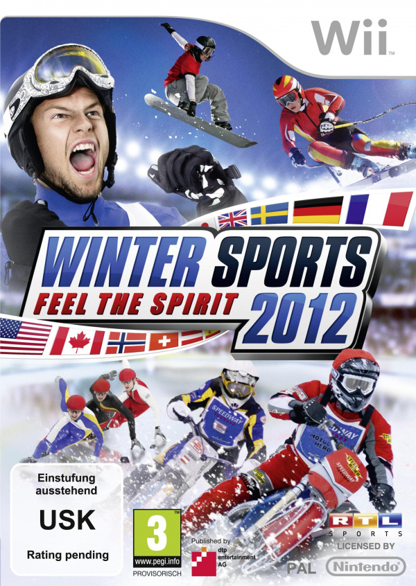 Winter Sports 2012: Feel the Spirit Cover Artwork