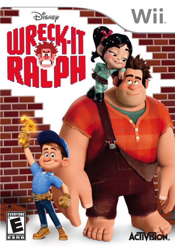 Wreck-It Ralph Cover Artwork