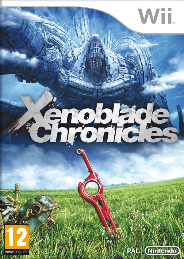 Xenoblade Chronicles Cover Artwork