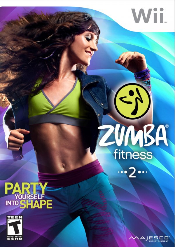 Zumba Fitness 2 Cover Artwork