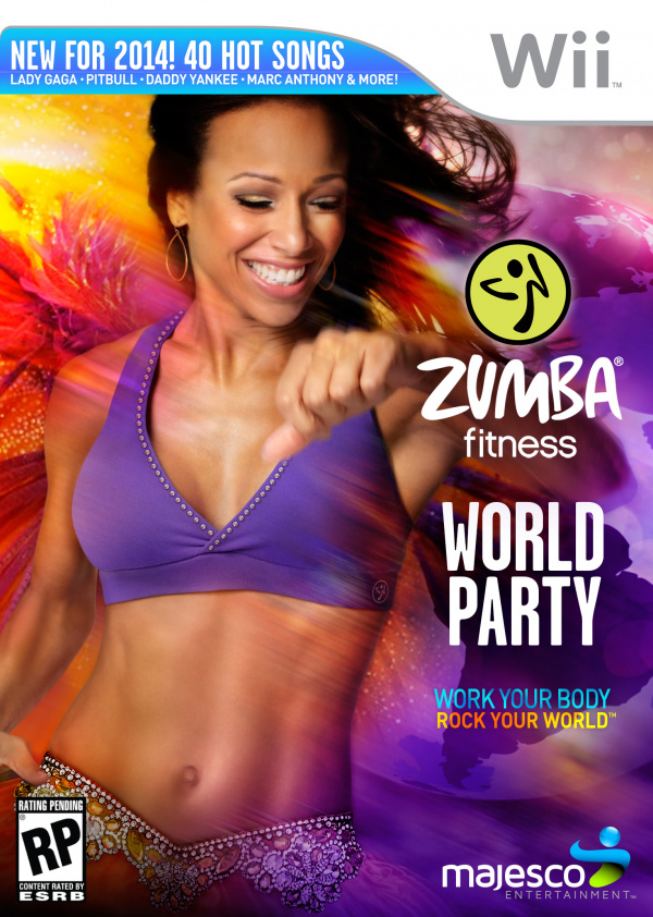 Zumba Fitness World Party Cover Artwork