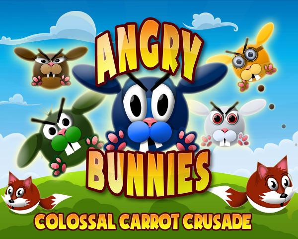 Angry Bunnies Colossal Carrot Crusade