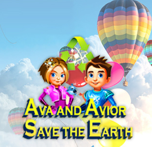 Ava and Avior Save the Earth Cover Artwork