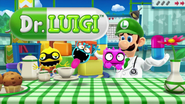 Dr. Luigi Cover Artwork
