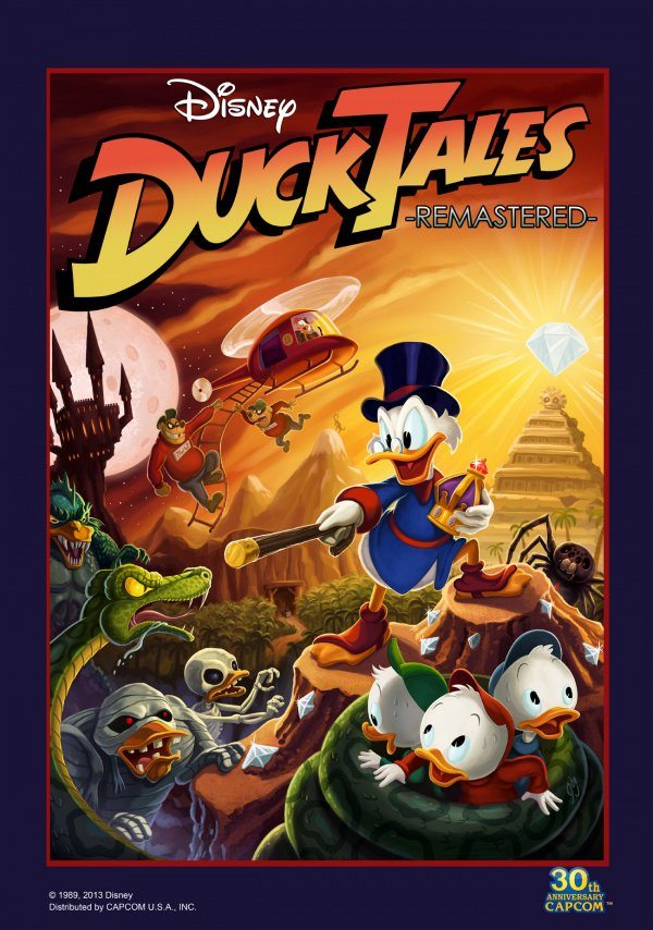 DuckTales: Remastered Cover Artwork
