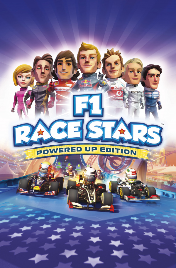 F1 Race Stars: Powered Up Edition Cover Artwork