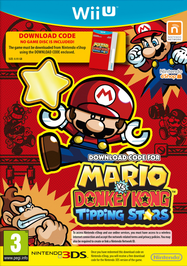 Mario vs. Donkey Kong: Tipping Stars Cover Artwork