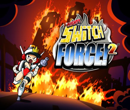 Mighty Switch Force! 2 Cover Artwork