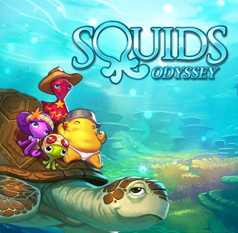 Squids Odyssey Cover Artwork