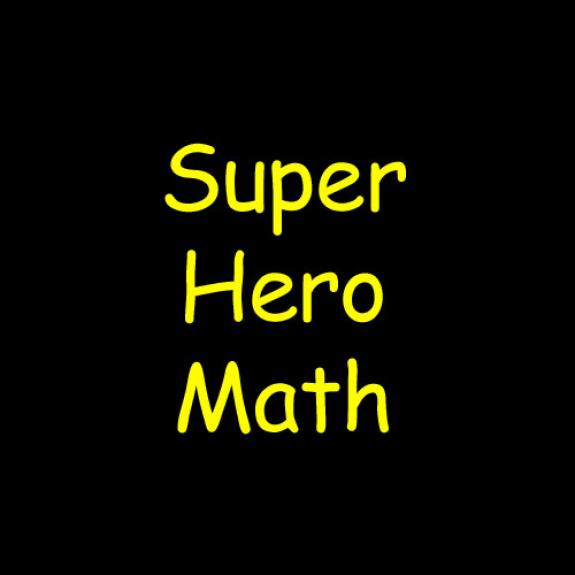 Super Hero Math