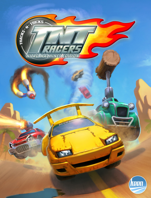 TNT Racers - Nitro Machines Edition Cover Artwork