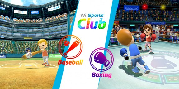 Wii Sports Club: Baseball + Boxing