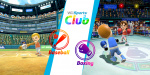 Wii Sports Club: Baseball + Boxing Cover (Click to enlarge)
