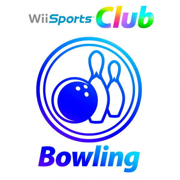 Wii Sports Club: Bowling Cover Artwork