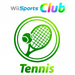Wii Sports Club: Tennis Cover (Click to enlarge)
