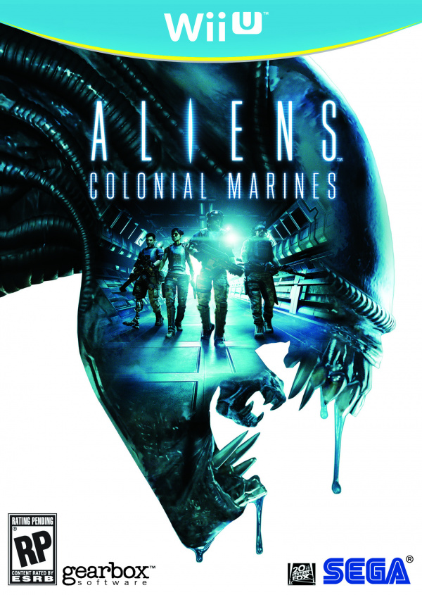 Aliens: Colonial Marines Cover Artwork