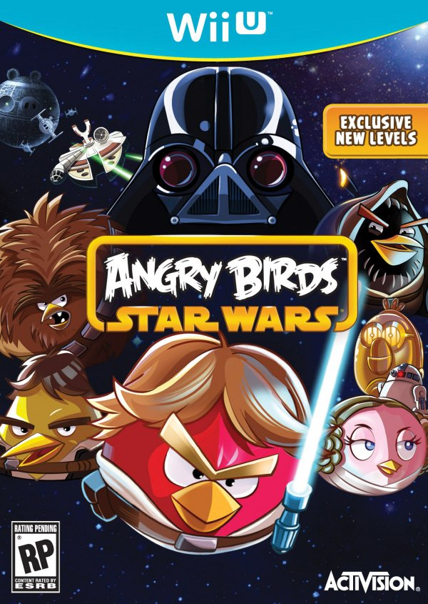 Angry Birds Star Wars Cover Artwork