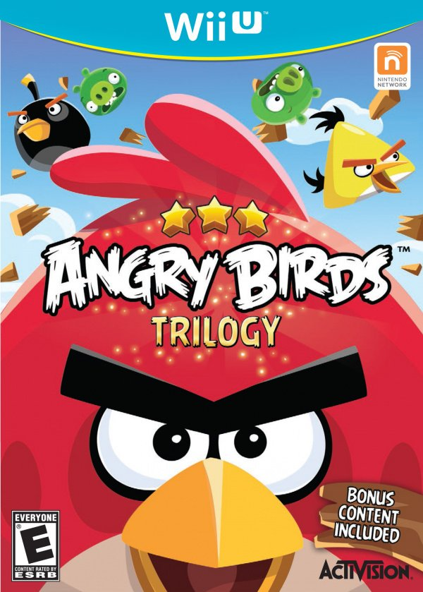 Angry Birds Trilogy Cover Artwork