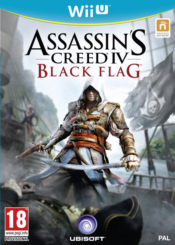 Assassin's Creed IV Black Flag Cover Artwork