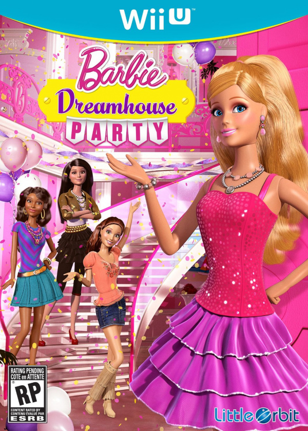 Barbie Dreamhouse Party Cover Artwork