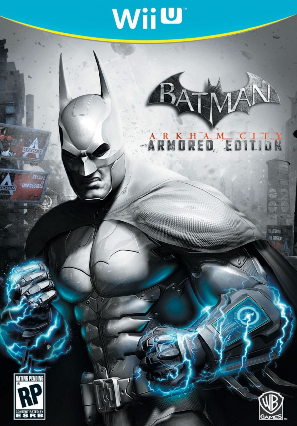 Batman: Arkham City Armored Edition Cover Artwork
