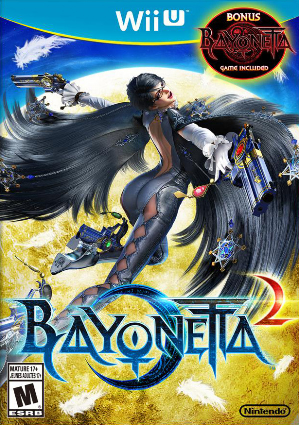 Bayonetta 2 Cover Artwork