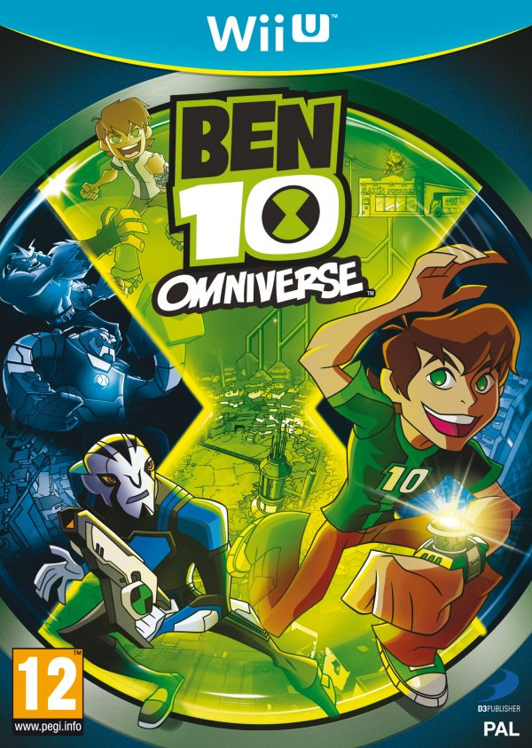 Ben 10: Omniverse Cover Artwork
