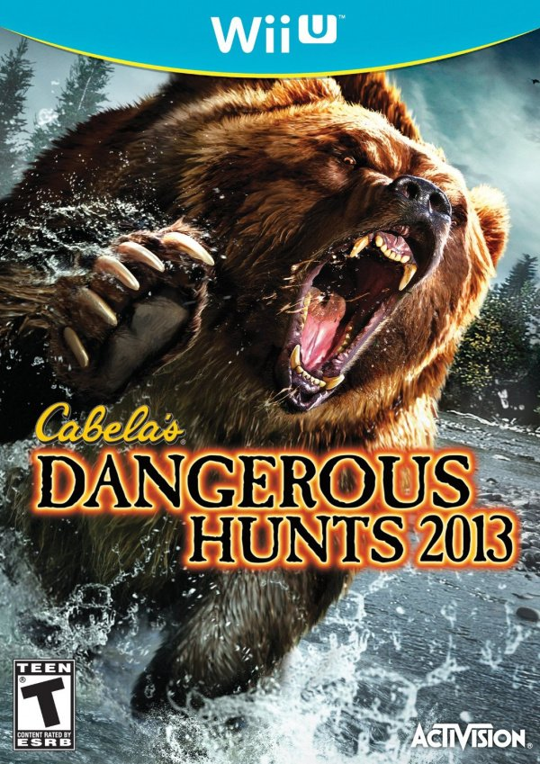 Cabela's Dangerous Hunts 2013 Cover Artwork