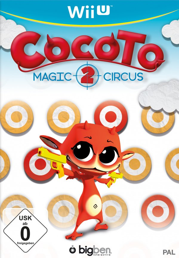 Cocoto Magic Circus 2 Cover Artwork