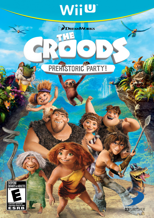 The Croods: Prehistoric Party! Cover Artwork
